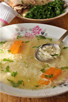 Умач аши (суп затируха) - Вкусная пауза