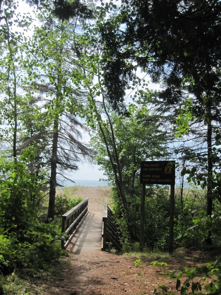 Pancake Bay Provincial Park  July 29 2012