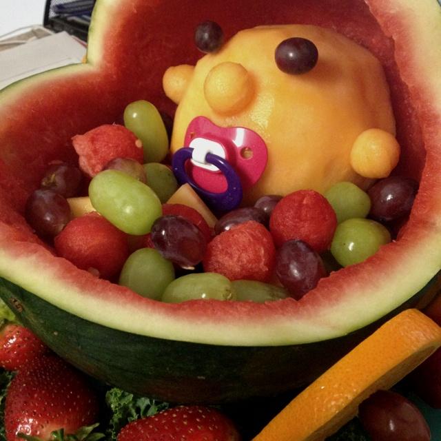 baby shower themed fruit basket my new gbaby pinterest
