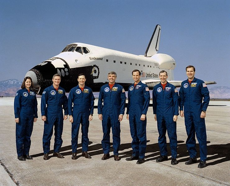 space shuttle endeavour crew members - photo #45
