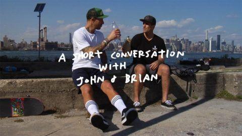 A Short Conversation With John & Brian: A short conversation with John Cardiel and Brian… #Skatevideos #brian #Conversation #john #short