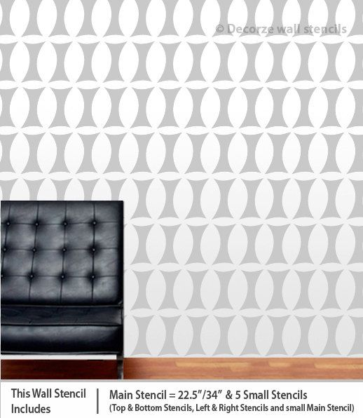 78 best New wall stencils images on Pinterest Wall stenciling