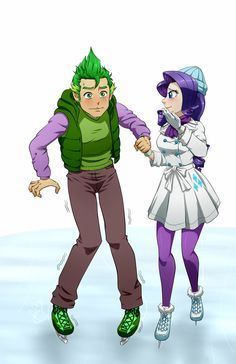 Spike and Rarity on Pinterest | Rarity And Spike, Rarity and Spikes