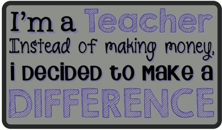 Teaching Quotes Pinterest: Make A Difference