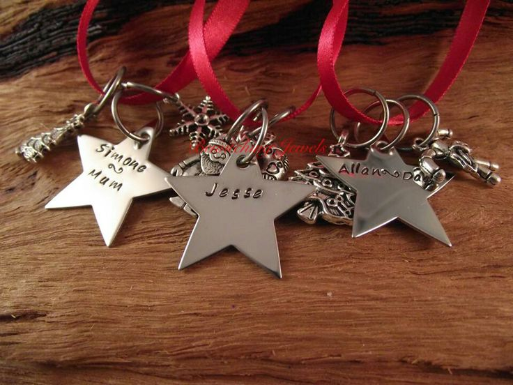 Christmas stars Bewitching jewels
