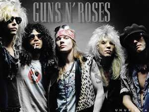One of the premier Hard Rock Bands of the 80′s. Back when axl was sexy!!