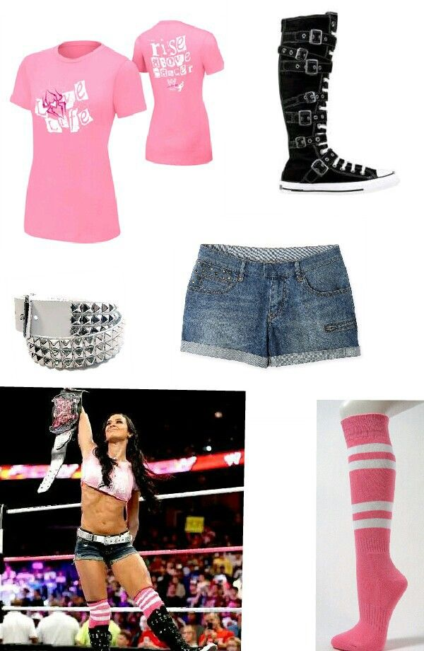 Aj lee | wwe outfits | Pinterest | Shirts, Aj lee and Crop tops Aj Lee Clothes Line