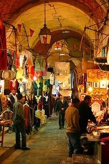 There is nothing like shopping at a bazaar in Tunisia.