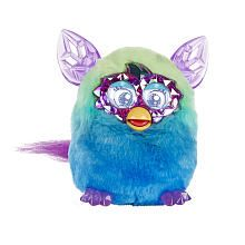 Furby Boom Crystal Series Figure (Green to Blue)