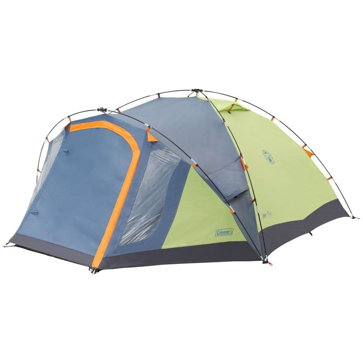 The Coleman Fastpitch Hub 4 , a versatile tent incorporating the innovative Coleman Fastpitch Hub Great for weekends away!