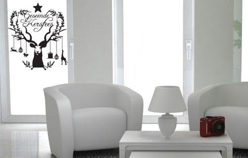 Christmas Kudu vinyl decoration from Fantastick Wall Décor (South Africa)  #christma #kudu #southafrica