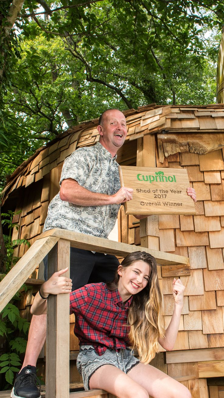 Mushroom House is crowned the winner of Shed of the Year 2017! With its beautiful design both inside and out, dad Ben and daughter Elsie's creation is a deserving victor of the prestigious award. Congratulations guys!