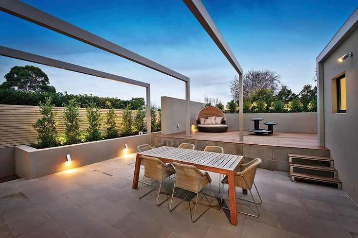 #Luxury #townhouse for sale in #malvern #Melbourne designed by CATT #Architects and Jack Merlo #Landscape #Design,  this 56 squares luxury residence, constructed with meticulous attention to detail features: #pool, lift, #Marble bench tops and more.