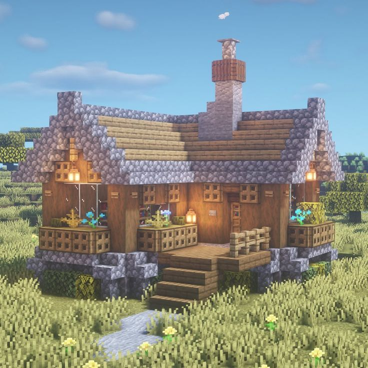 "Kugio - Minecraft Builder en Instagram: ""Small house I ..."