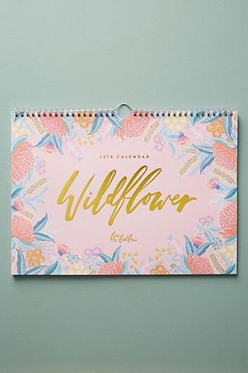 Wildflower 2018 Appointment Calendar