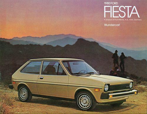 1980 ford fiesta automotive pinterest. Black Bedroom Furniture Sets. Home Design Ideas