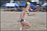 Photos :: Harvie Allison Photography | elly graf | surflifesaving | australia | green and gold | international rescue challenge 2015 | sprinter | flags | #AUS #415 #pridemateshippassion #roadtorescue #roadtorio #greenandgold #bringiton #ausopenteam
