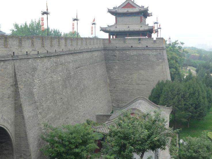 Xi'an Stad's Muur - Xi'an - fietstocht over de muur ca 14 km