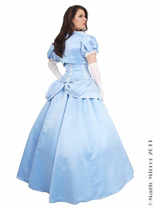 Long Cinderella Fancy Dress Costume - Costume Hire