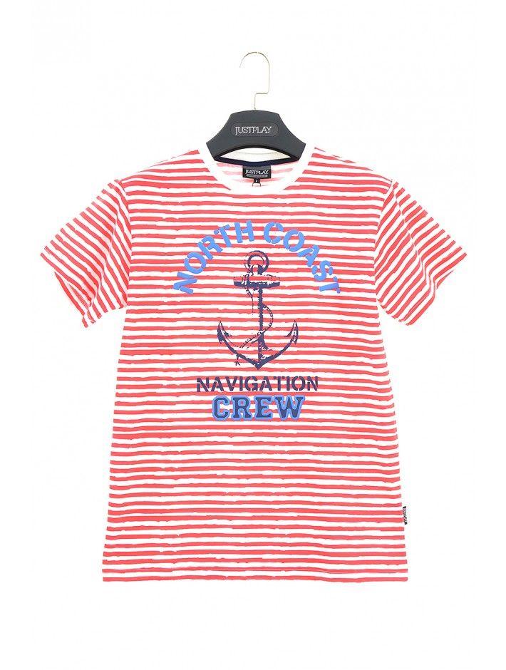 Pánske tričko North Coast - Pánske tričká s krátkym rukávom - Pánske tričká - Pánske oblečenie - JUSTPLAY