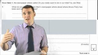 AQA GCSE English / English Language Exam Revision, via YouTube.