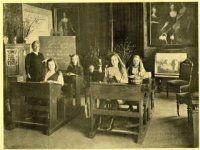prinses Juliana in de schoolbanken den haag 1920