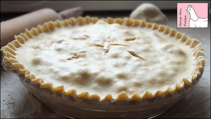 Pie Crust Tutorial https://www.youtube.com/watch?v=7pWSOeFAxw0