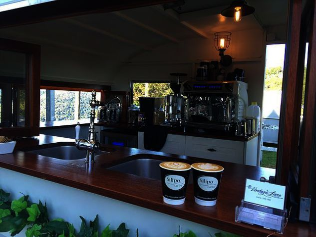 Coffee Meets Bagel Go On Hold Coffee Shop Near Me Open 24 Hours Caravan Bar Mobile Coffee Shop Coffee Van