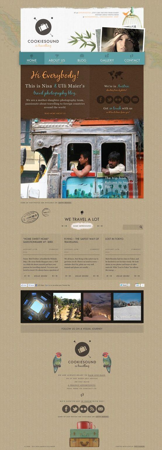 www.cookiesound.com  #Creative #websites #design #digital
