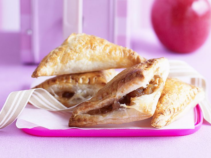 There's little room for disappointment with hot, steamy cinnamon-baked sultanas and apples inside a golden, flaky crust.