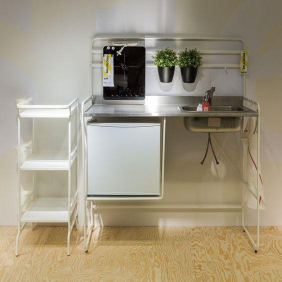 Ikea Mini Kitchen: 76 Liebenswürdig Küchenzeile Ikea In 2019
