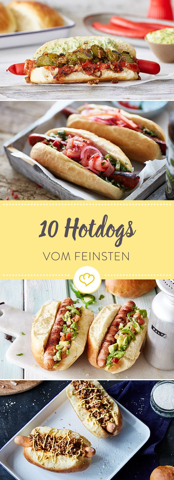 Wenn der Magen mal wieder knurrt und der Heißhunger ruft, gibt es nichts Attraktiveres als einen guten selbstgemachten Hotdog. Lass dich inspirieren.