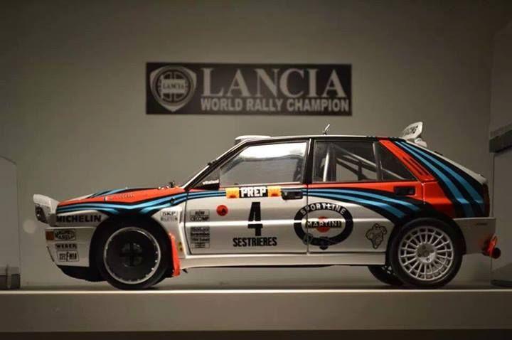 Lancia Delta World Rally Champion