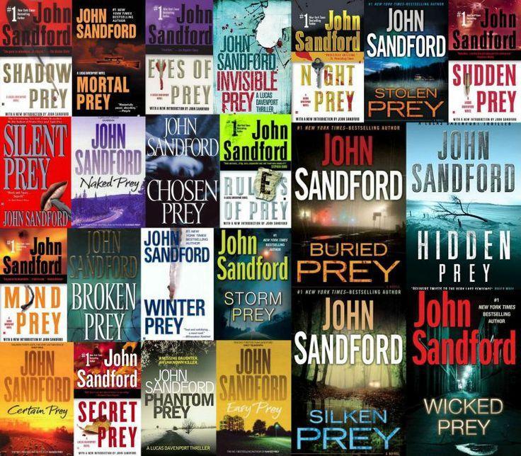 John Sanfords Prey Series With Lieutenant Lucas