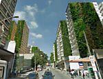 Folha de S.Paulo - São Paulo - Levantamento mostra que 500 paredões do centro de SP poderiam virar jardins suspensos - 15/12/2013