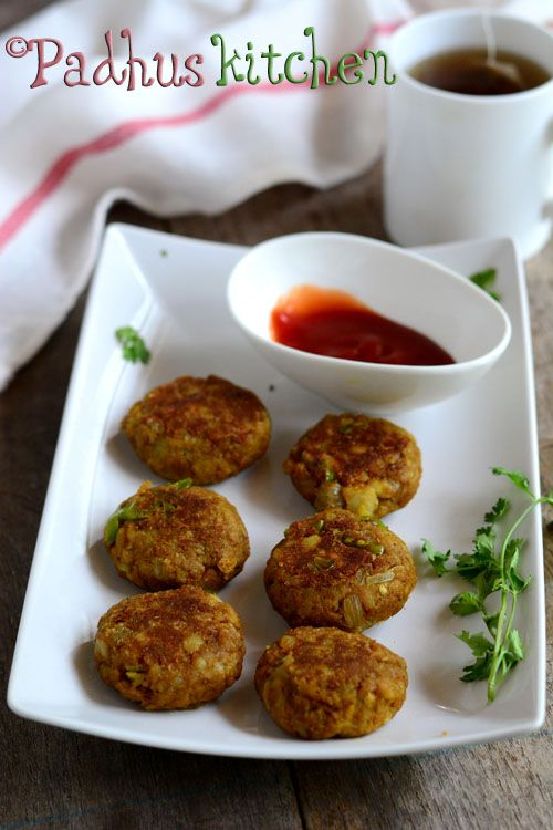 Soya Keema Cutlets-Soya Chunks Cutlet Recipe