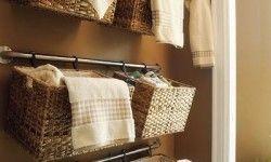 hanging wall basket storage