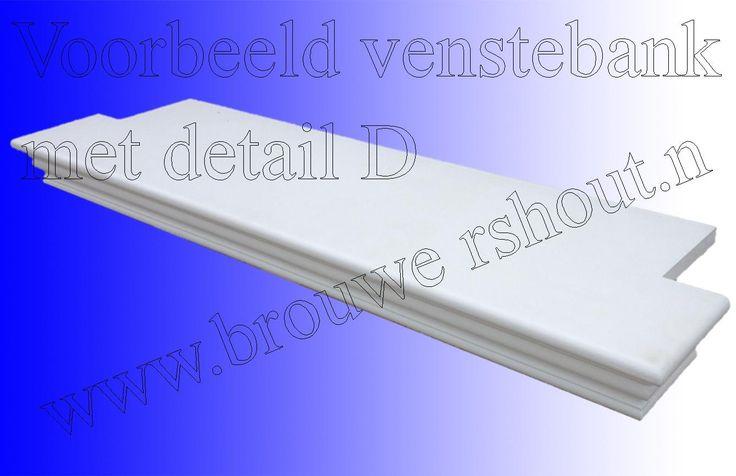 Vensterbanken : MDF vensterbank VB007