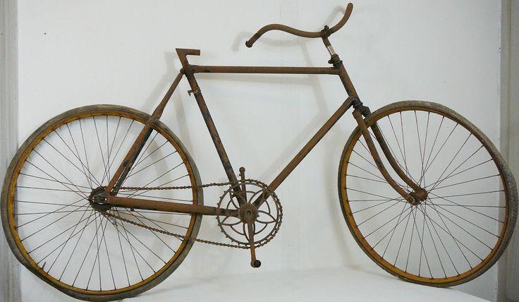Velo Ancien Course 1900 Roue Gravigny Retropedalage Dent Sauté Antique Bicycle | eBay