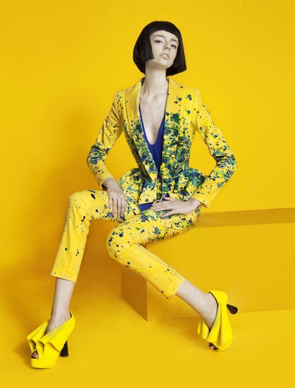 Color Blocking on Fashion Served