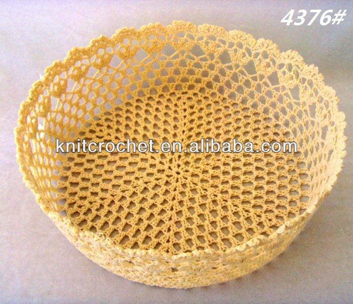 Versatile crochet basket, Hand Crochet Lace Baskets, crochet pp basket, View Crochet Lace Baskets, KCC Product Details from Shangrao Knit Crochet Craft Factory on Alibaba.com