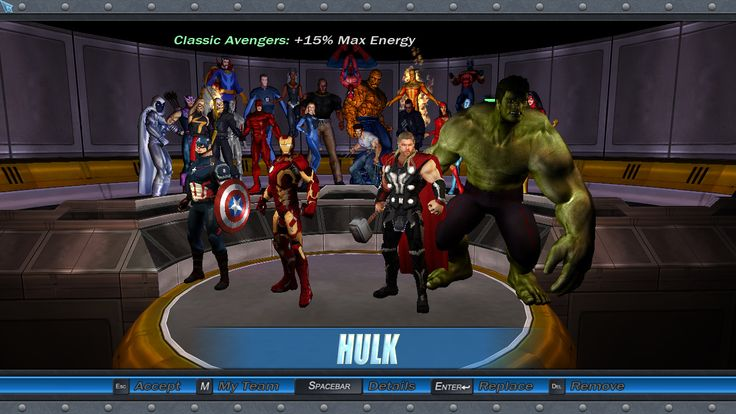 ultimate alliance 2 how to get hulk