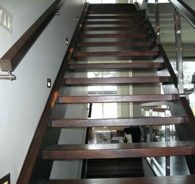 Wooden Stair Tread Lights Home Interior Design Ideas Step Lighting Stairs Stairways