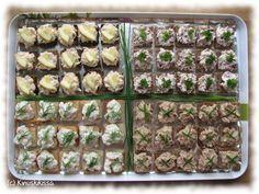 Lohi-, poro-, katkarapu- ja tonnikalasuupalat Cocktail-lajitelma kuuluu meillä usein juhlapöydän suolaiseen osastoon.