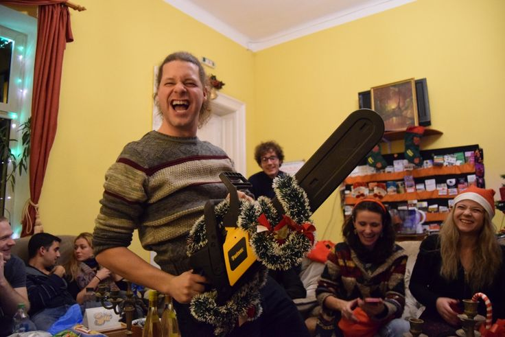 christmasy chanisaw- newyears Transylvania hostel (73)