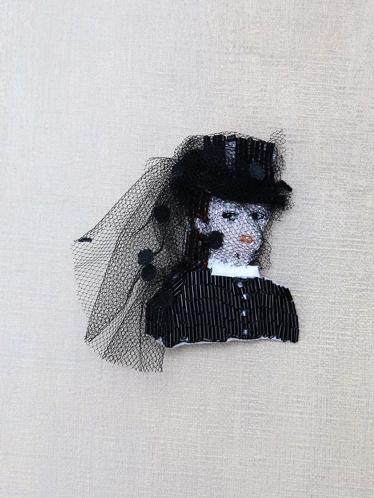Marianne Batlle for Orsay Museum - brooch inspired by Degas