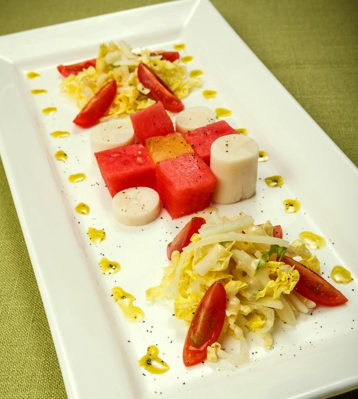Hearts of Palm & Watermelon Salad