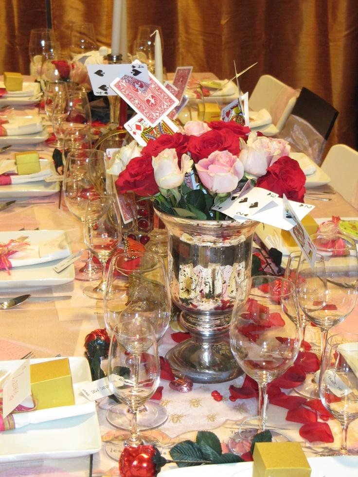 Wonderful Valentines Dinner Party Ideas Part - 5: Alice In Wonderland Valentines Dinner Party