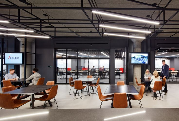 Office tour skender construction offices chicago - Commercial interior design chicago ...