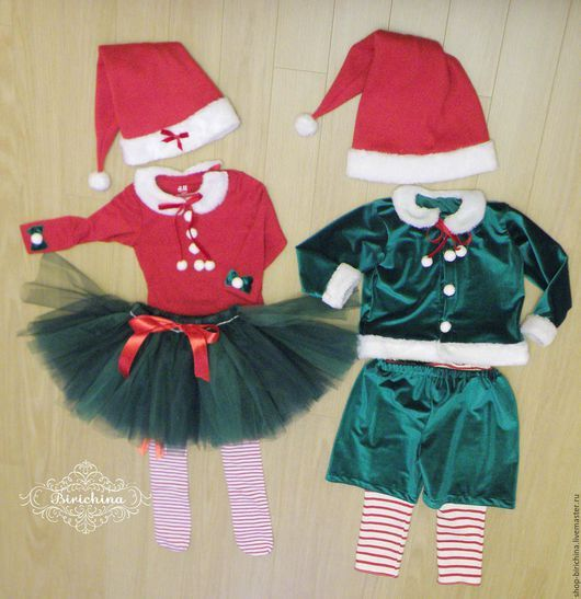 Детские карнавальные костюмы ручной работы. Ярмарка Мастеров - ручная работа. Купить Карнавальный костюм Новогодний Эльф или Гномо. Handmade.